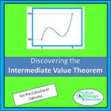 Calculus - Discovering the Intermediate Value Theorem