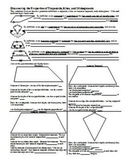 Discovering the Properties of Trapezoids, Kites, & Midsegments w/Key (Editable)
