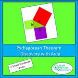 Geometry - Pythagorean Theorem - Discovery with Area