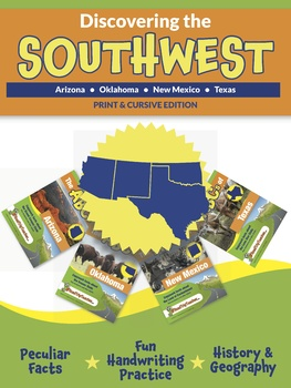 Discovering the Southwest - Print and Cursive Edition