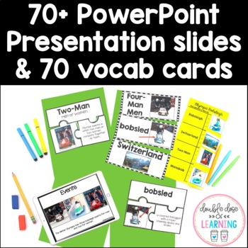 Discovering the Winter Olympics [MEGA] 6-Part Bundle Unit with PowerPoints!