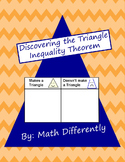 Discovering the Triangle Inequality Theorem Exploration