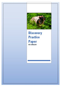 Discovery Area of Study Practice Paper