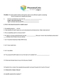 Discovery Cube Scavenger Worksheet