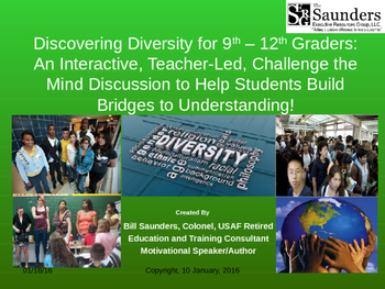 Diversity through Discovery—Building Bridges for 9th – 12t