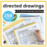 Discovery Drawings | A-Z Animals | Directed Drawings Bundle
