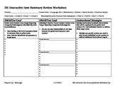 Discovery Education Assessment SMART GOALS Worksheet