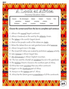 Discovery Education Notes for Africa