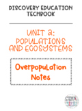 Discovery Education Techbook - Overpopulation Notes