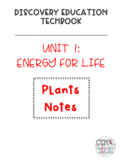 Discovery Education Techbook - Plants Notes