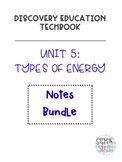 Discovery Education Techbook - Types of Energy Bundle