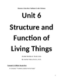 Discovery Education Techbook Unit 6 Structure and Function of Living Things