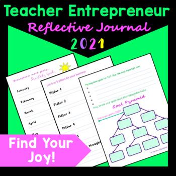 Teacher Entrepreneur Reflective Journal for 2019