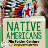 Discovery Learning Folders:  Native American Regions of North America