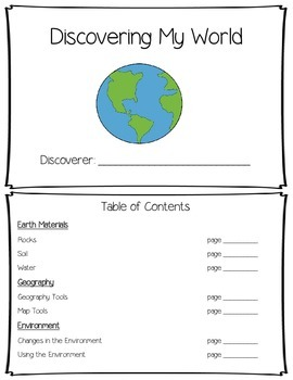 Discovery Learning Journal