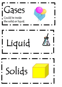 States of Matter Activity Lesson Plans and Book