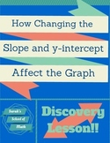 Discovery Lesson:  How Changing the Slope and Y-intercept Affects the Graph