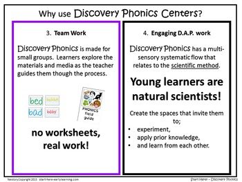 Discovery Phonics Centers K-2