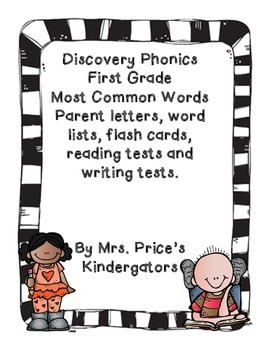 Discovery Phonics Most Common Words First Grade