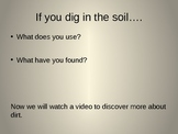 """Discovery Science 1st Grade """"What's in the Soil"""" Power Point"""