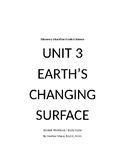 Discovery Education Techbook 6th Gr. Unit 3 Earth's Changing Surface St. Guide