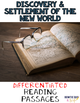 Discovery and Settlement of the New World Differentiated R