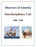 Discovery of America Interdisciplinary Unit, Activities an