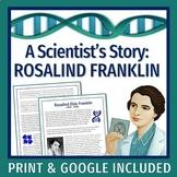 Women in Science: DNA & Genetics Worksheet & Reading  NGSS MS-LS3-1