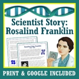 Women's History Month DNA Genetics Scientist Text and Worksheet