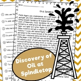 Discovery of Oil at Spindletop