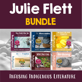Connecting to First Nation/ Metis Literature- A Julie Flett BUNDLE