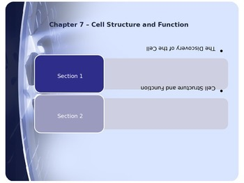Cellular Structure & Function-Discovery of Cell & Structure/Function-PowerPoint