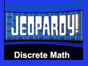 Discrete Math Jeopardy- Digraphs & Scheduling