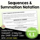 Sequences (PreCalculus - Unit 9)