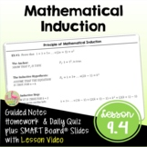 Mathematical Induction (PreCalculus - Unit 9)