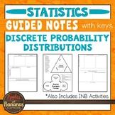 Discrete Probability Distributions - INB Activities & Guid