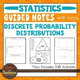 Discrete Probability Distributions - INB Activities & Guid