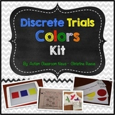 Discrete Trial Kit: Colors (Matching, Receptive, Expressive) ABA, Autism