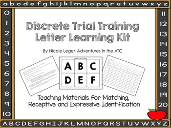 Discrete Trial Learning KIt:  Letters