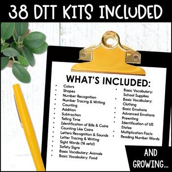 Discrete Trial Lessons ENDLESS BUNDLE