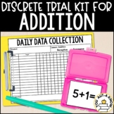 Discrete Trial Lessons for Addition Facts 0-9