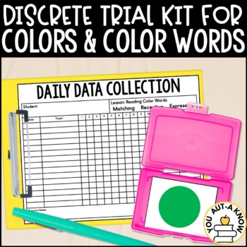 Discrete Trial Lessons for Color Identification