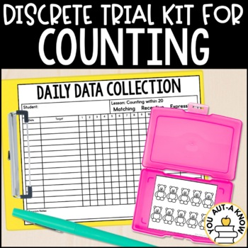 Discrete Trial Lessons for Counting (1:1 Correspondence through 30)
