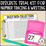 Discrete Trial Lessons for Number Tracing and Writing