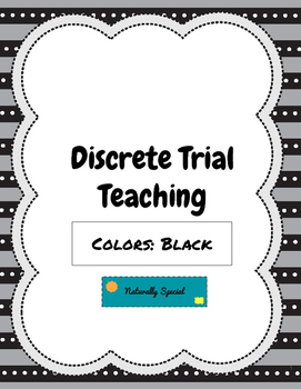 Discrete Trial Teaching Colors: Black