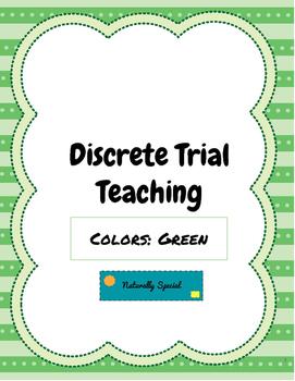 Discrete Trial Teaching Colors: Green