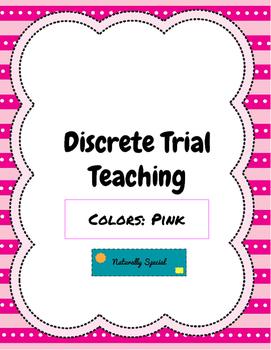 Discrete Trial Teaching Colors: Pink