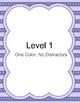 Discrete Trial Teaching Colors: Purple