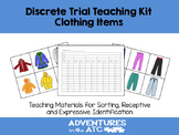 Discrete Trial Teaching KIt:  Clothing Items