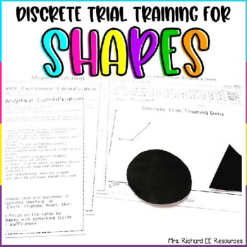Discrete Trial Training Basic Shape Lessons for Identification and Matching